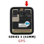 Pantalla Completa LCD Y Táctil para Apple Watch Series 3 42mm A1859 (3rd Gen) – Negro GPS De Desmontaje 22