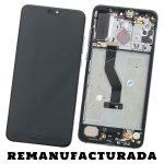 Pantalla Completa Original LCD Y Táctil Con Marco para Huawei P20 Pro – Negro Plata Remanufacturada