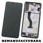 Pantalla Completa Original LCD Y Táctil Con Marco para Huawei P20 Pro - Twilight Morado Remanufacturada