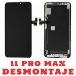 Pantalla Completa Original LCD Y Táctil para iPhone 11 Pro Max - Negro De Desmontaje