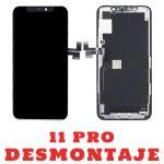 Pantalla Completa Original LCD Y Táctil para iPhone 11 Pro - Negro De Desmontaje