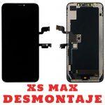 Pantalla Completa Original LCD Y Táctil para iPhone XS Max - Negro De Desmontaje