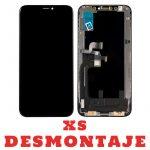 Pantalla Completa Original LCD Y Táctil para iPhone XS - Negro De Desmontaje