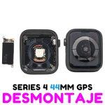 Carcasa para Apple Watch Series 4 44mm (A1978) (4th Gen) - Negro GPS De Desmontaje