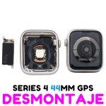 Carcasa para Apple Watch Series 4 44mm (A1978) (4th Gen) - Plata GPS De Desmontaje