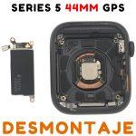 Carcasa para Apple Watch Series 5 44mm (A2093) (5th Gen) - Negro GPS De Desmontaje