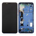 Pantalla Completa LCD Y Táctil Con Marco para Xiaomi Mi8 - Azul