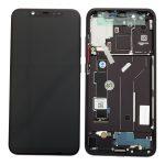 Pantalla Completa LCD Y Táctil Con Marco para Xiaomi Mi8 - Negro