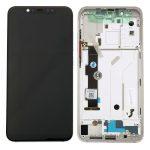 Pantalla Completa LCD Y Táctil Con Marco para Xiaomi Mi8 - Plata