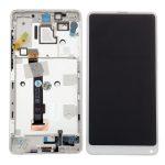 Pantalla Completa LCD Y Táctil Con Marco para Xiaomi Mix 2S - Blanco