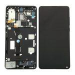 Pantalla Completa LCD Y Táctil Con Marco para Xiaomi Mix 2S - Negro