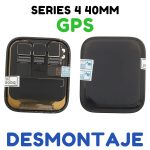 Pantalla Completa LCD Y Táctil para Apple Watch Series 4 40mm A1977 (4rd Gen) - Negro GPS De Desmontaje