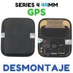 Pantalla Completa LCD Y Táctil para Apple Watch Series 4 44mm A1978 (4rd Gen) - Negro GPS De Desmontaje