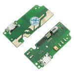 Placa De Conector De Carga Micro USB Con Micrófono para Alcatel 3X 5058Y 5058A