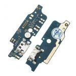 Placa De Conector De Carga Micro USB Con Micrófono para Moto E6 Plus