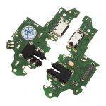 Placa De Conector De Carga USB Tipo-C Con Micrófono Y Jack De Audio para Huawei Y9p 2020