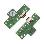 Placa De Conector De Carga USB Tipo-C Con Micrófono para Moto G8