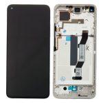 Pantalla Completa LCD Y Táctil Con Marco para Xiaomi Mi10T - Plata