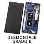 Pantalla Completa LCD Y Táctil Original para Samsung Galaxy Note 9 N960F - Azul De Desmontaje Grado B