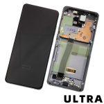 Pantalla Completa LCD Y Táctil Original para Samsung Galaxy S20 Ultra 5G G988F - Gris