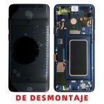Pantalla Completa LCD Y Táctil Original para Samsung Galaxy S9 G960F - Azul De Desmontaje