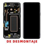 Pantalla Completa LCD Y Táctil Original para Samsung Galaxy S9 G960F - Negro De Desmontaje