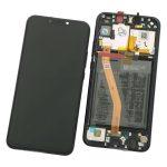 Pantalla Completa Original LCD Y Táctil Con Marco para Huawei P Smart Plus Nova 3i - Negro (Service Pack)