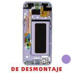 Pantalla Completa Original LCD Y Táctil Con Marco para Samsung G955f Galaxy S8 Plus - Morado De Desmontaje Grado B