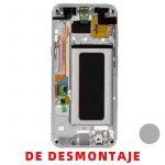Pantalla Completa Original LCD Y Táctil Con Marco para Samsung G955f Galaxy S8 Plus - Plata De Desmontaje Grado B