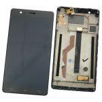 Pantalla Completa Con Marco LCD Y Táctil para El BQ Aquaris E6 - Negro De Desmontaje