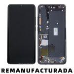 Pantalla Completa LCD Y Táctil Con Marco para Xiaomi Mi Note 10 Mi CC9 Pro - Negro Remanufacturada