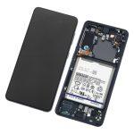 Pantalla Completa LCD Y Táctil Original para Samsung Galaxy S21 5G G991F - Negro