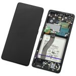 Pantalla Completa LCD Y Táctil Original para Samsung Galaxy S21 Ultra 5G G998F - Negro
