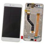 Pantalla Completa Original LCD Y Táctil Con Marco para Huawei P10 Lite - Blanco (Service Park) Sin Batería