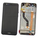 Pantalla Completa Original LCD Y Táctil Con Marco para Huawei P10 Lite - Negro (Service Park) Sin Batería