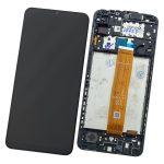 Pantalla Completa Original LCD Y Táctil Con Marco para Samsung Galaxy A12 (2020) A125F - Negro 2