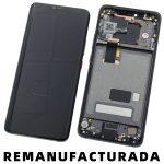 Pantalla Completa LCD Y Táctil Con Marco para Huawei Mate 20 Pro - Negro Remanufacturada