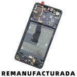 Pantalla Completa LCD Y Táctil Con Marco para Huawei P30 - Negro Remanufacturada