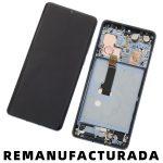 Pantalla Completa LCD Y Táctil Con Marco para Huawei P30 Pro - Azul Remanufacturada