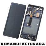 Pantalla Completa LCD Y Táctil Con Marco para Huawei P30 Pro - Negro Remanufacturada