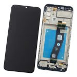 Pantalla Completa LCD Y Táctil Original Con Marco para Samsung Galaxy A02s (2021) A025F - Negro