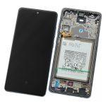 Pantalla Completa LCD Y Táctil Original Con Marco para Samsung Galaxy A72 (5G) 2021 A726F - Negro