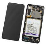 Pantalla Completa LCD Y Táctil Original para Samsung Galaxy S21 Plus 5G G996F - Negro