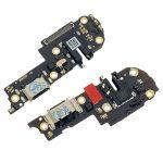 Placa De Conector De Carga USB Tipo-C Con Jack De Audio Y Micrófono para Oppo A72 2020
