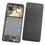 Pantalla Completa LCD Y Táctil Con Marco para Xiaomi Mi11 - Negro