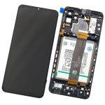 Pantalla Completa LCD Y Táctil Original Con Marco para Samsung Galaxy A32 5G (2021) A326B - Negro