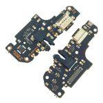 Placa De Conector De Carga USB Tipo-C Con Micrófono Y Jack De Audio para Xiaomi Redmi Note 9T