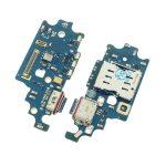 Placa De Conector De Carga USB Tipo-C Con Micrófono Y Lector De SIM para Samsung Galaxy S21 Plus 5G G996B
