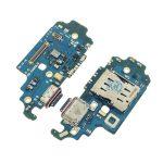 Placa De Conector De Carga USB Tipo-C Con Micrófono Y Lector De SIM para Samsung Galaxy S21 Ultra 5G G998B