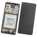 Pantalla Completa LCD Y Táctil Original Con Marco para Samsung Galaxy A52 A525F A52 (5G) 2021 A526B – Plata